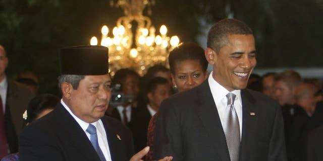 President Obama in Indonesia/AP