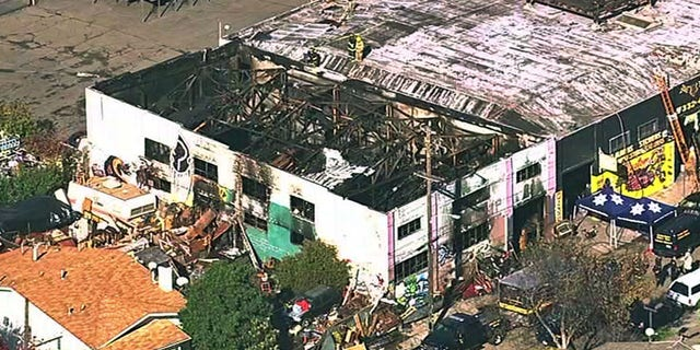 The warehouse was hosting an unpermitted house music concert when fire broke out on Dec. 2, 2016.