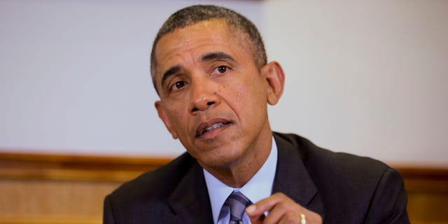 Feb. 19, 2014 President Barack Obama speaks to the media about the situation in Ukraine.