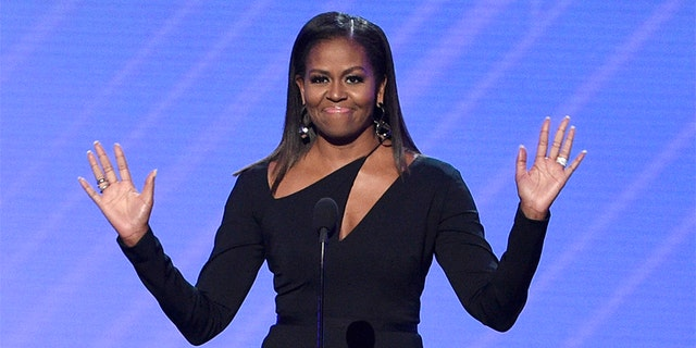 File picture of Michelle Obama during the ESPYS