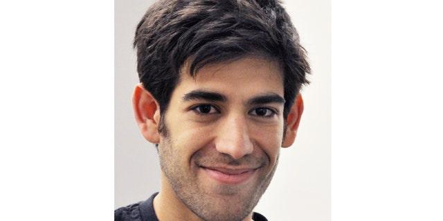 Dec. 8, 2012: Aaron Swartz, in New York. Swartz, a co-founder of Reddit, hanged himself Friday, Jan. 11, 2013, in New York City.