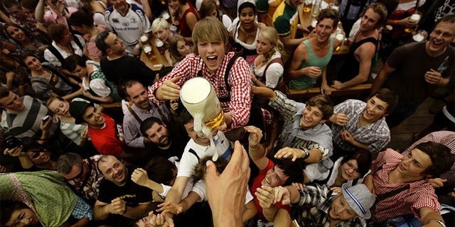 Bavarian officials canceled the Oktoberfest festivities for the second year in a row due to concerns over the spread of COVID-19.