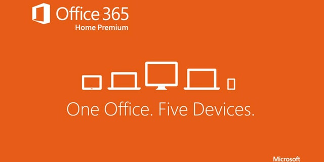 Jan. 29, 2013: Office 365 Home Premium -- a subscription version of the Office 2013 software -- works on up to five devices, including Windows tablets, PCs and Macs, Microsoft said.
