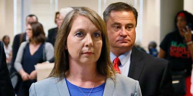 Betty Jo Shelby was acquitted last year in the fatal shooting of Terence Crutcher.