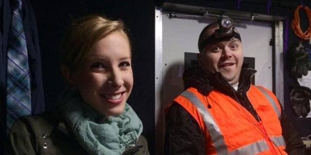 WDBJ-TV reporter Alison Parker, left, and cameraman Adam Ward. (Courtesy of WDBJ-TV via AP, File)