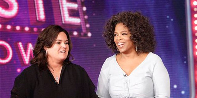 Rosie O'Donnell hosted a day-time talk show from 1996-2002 and featured high-profile guests.