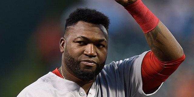 Boston Red Sox David Ortiz on Thursday, Sept. 22, 2016, in Baltimore.