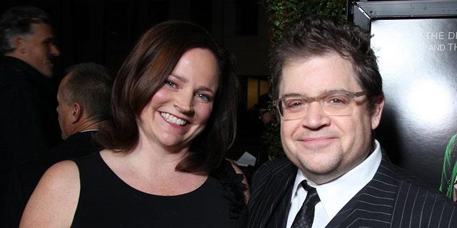 Michelle McNamara and Patton Oswalt in 2012. McNamara died in 2016.