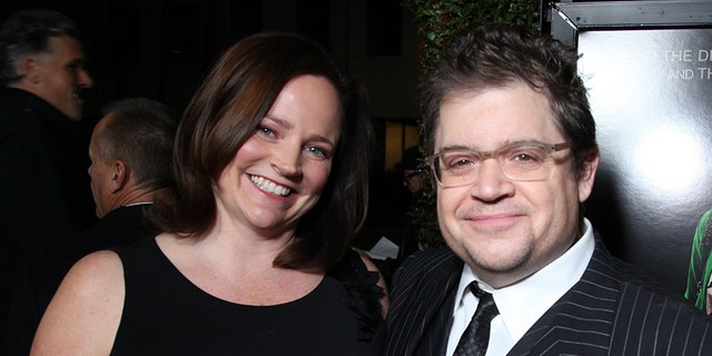 Michelle McNamara and Patton Oswalt in 2012. McNamara died in 2016.