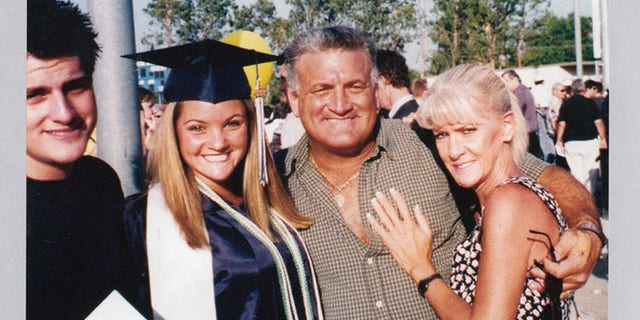 Mary Jo Buttafuoco with her ex-husband and their children in 2001.
