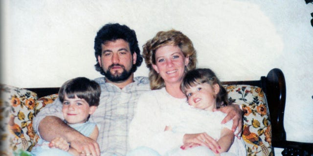 Mary Jo and Joey Buttafuoco with their children in 1986.