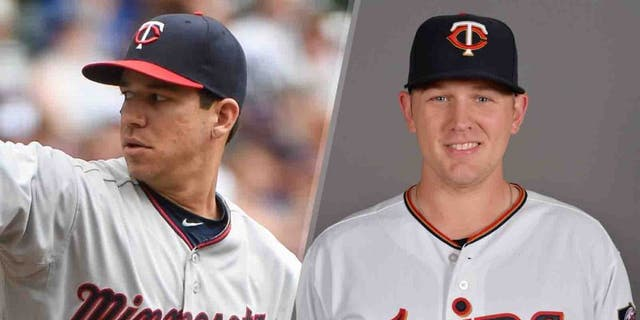 Minnesota Twins pitcher Tommy Milone (left) is 5-3 with a 3.76 ERA in 14 starts this season. Tyler Duffey has posted a 6-8 record with a 2.66 ERA between Double-A Chattanooga and Triple-A Rochester this season.