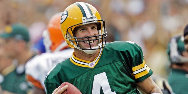 Brett Favre threw more than 500 touchdown passes during his NFL career, 1991-2010.