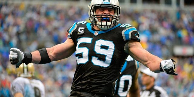 Westlake Legal Group PI-NFL-Panthers-Luke-Kuechly-424201-48a4f491108bf410VgnVCM100000d7c1a8c0____ Carolina Panthers' all-time Mount Rushmore: 4 best players in franchise history Paulina Dedaj fox-news/sports/nfl/carolina-panthers fox-news/sports/nfl fox-news/person/luke-kuechly fox-news/person/cam-newton fox news fnc/sports fnc article 99285ead-34c5-5b07-9c1a-cffcf659d9ac
