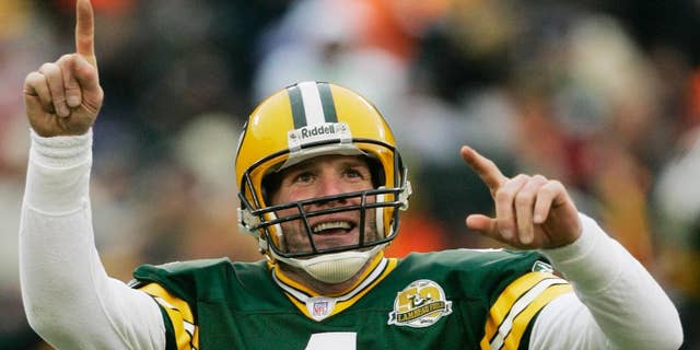 Brett Favre helped the Packers beat the 49ers in the last meeting between the two teams in the NFC title game. (AP Photo/Morry Gash, File)