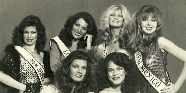Diana Goodman as Miss Georgia (top right).
