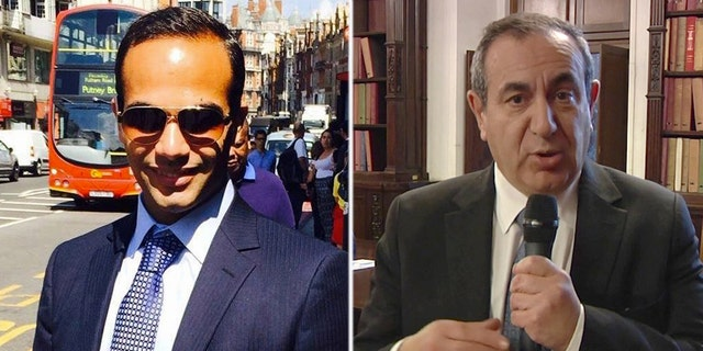 George Papadopoulos (left) pleaded guilty in October 2017 to lying to the FBI about his conversations with Maltese professor Joseph Mifsud (right).