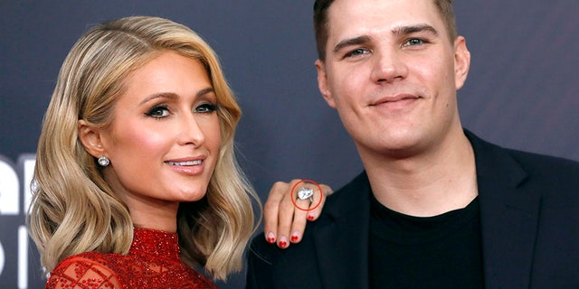 Paris Hilton, Chris Zylka and the ring, briefly lost and found -- worth some $2 million.