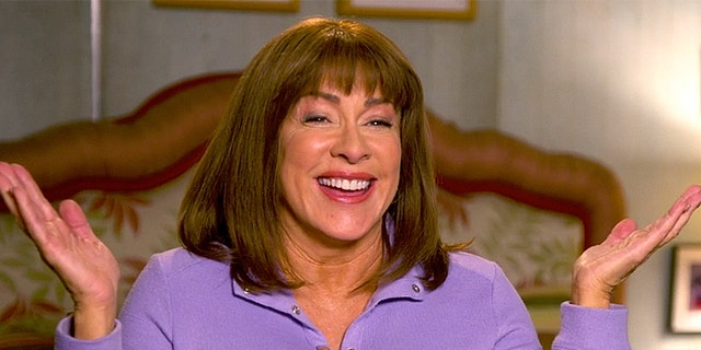 """Patricia Heaton filming """"The Middle."""""""