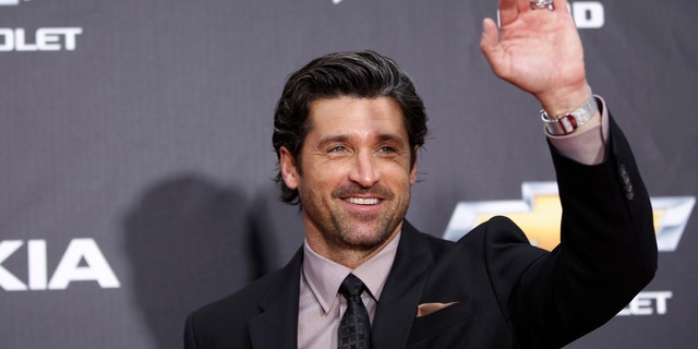 """Patrick Dempsey arrives for the premiere of """"Transformers: Dark of The Moon"""" in New York on June 28, 2011."""