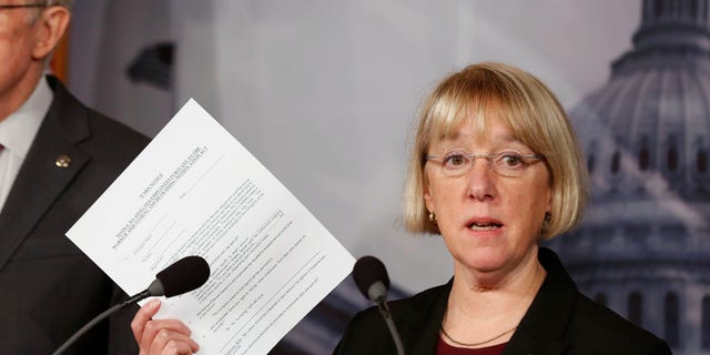 """""""This bill would hurt the students that need the most help by cutting billions in financial aid,"""" said Washington Democratic Sen. Patty Murray."""