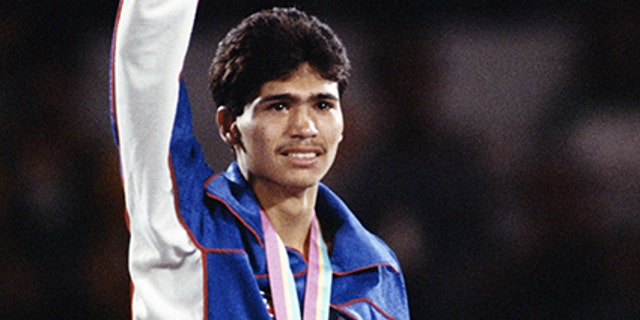 Paul Gonzales represented the U.S. at the 1984 Olympic games in Los Angeles, taking home the gold medal.