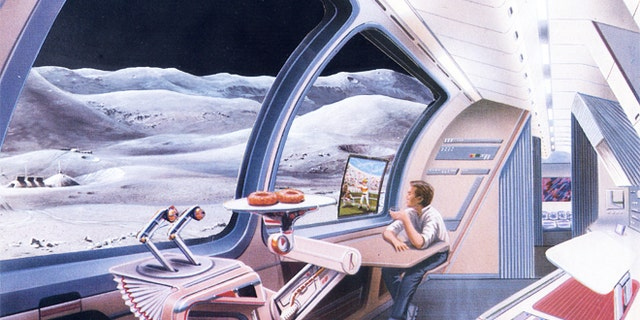 How will future space tourists pay for snacks off-planet?
