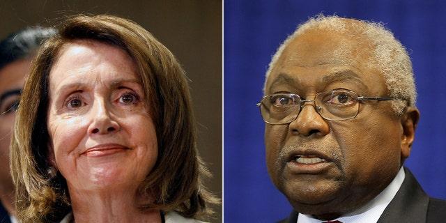Nancy Pelosi, D-Calif., appointedRep. Jim Clyburn, D-S.C., as leader of the new House coronavirus committee.