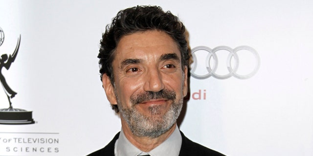 March 1, 2012: This file photo shows honoree Chuck Lorre at the Academy of Television Arts and Sciences 21st Annual Hall of Fame Gala in Beverly Hills, Calif.