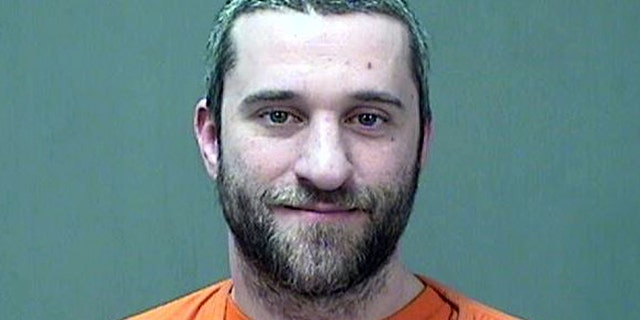 "In this Dec. 26, 2014 file photo provided by the Ozaukee County, Wis.,  Sheriff is Dustin Diamond, the actor who played Screech in the 1990s TV show ""Saved by the Bell."""