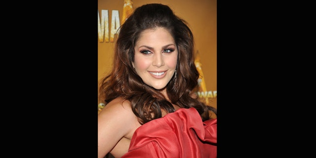 Nov. 10, 2010: File photo, Hillary Scott of the group Lady Antebellum attends the 44th Annual Country Music Awards in Nashville, Tenn.Scott announced her pregnancy Friday Dec. 7, 2012 on Twitter, calling the baby our Christmas gift.
