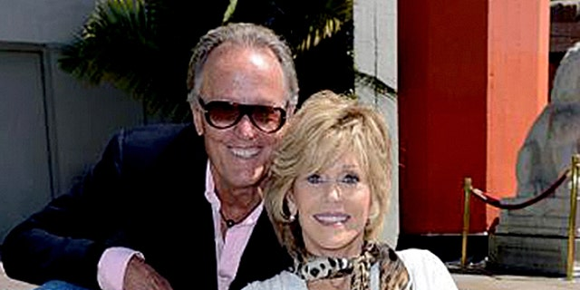 Peter Fonda, left, is the younger brother of actress Jane Fonda.