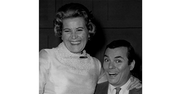 Peter Marshall with Rose Marie.