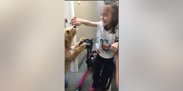 Money raised will go toward her medical care and to making the house more handicapped-accessible.