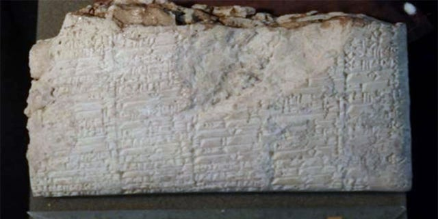 Cuneiform is an ancient system of writing on clay tablets that was used in ancient Mesopotamia thousands of years ago.