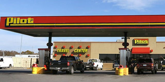 FILE: Undated: A Pilot gas station.