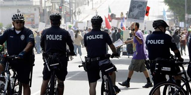 LAPD officers.