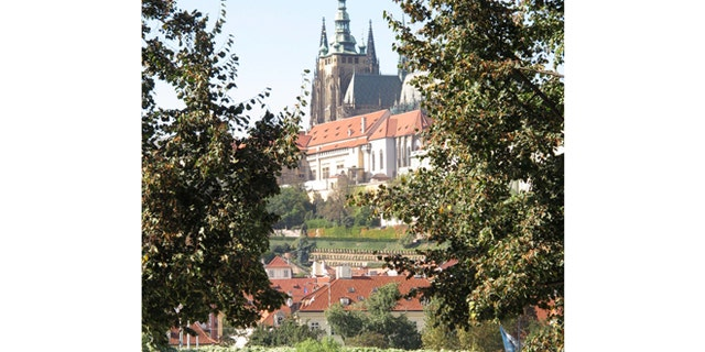 The Prague Castle, built in the 9th century, is the official office of the President of the Czech Republic.