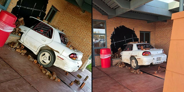 Authorities in Wisconsin have commended a high school prank which involved a supposed car accident.