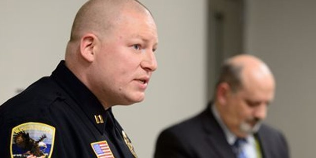 Capt. Kris Markeson told reporters that authorities believe the teenager was acting alone and would have carried out the attack in the next few weeks if he hadn't been caught.