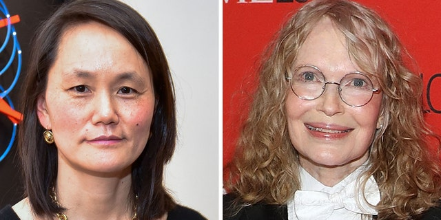 Soon-Yi Previn (left) has previously slammed Mia Farrow, her adoptive mother and husband's ex-wife.