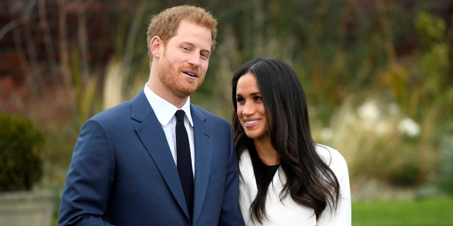 Prince Harry and Meghan Markle appear for the first time since announcing their engagement.