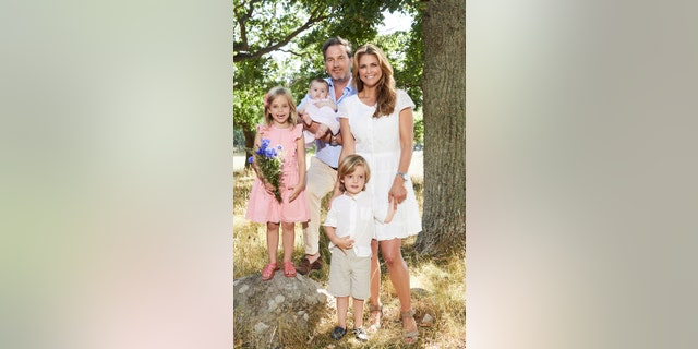Princess Madeleine and her family.