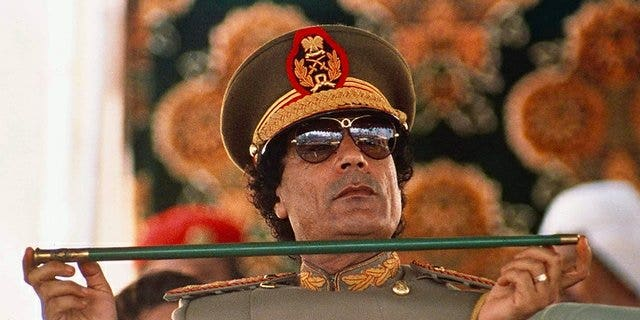 The late Libyan dictator Col. Moammar Qaddafi treated his nation's coffers like his own ATM, say experts. (AP)