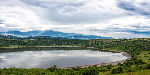 Queen Elizabeth National Park in Uganda.