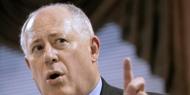 March 13, 2013: Illinois Gov. Pat Quinn says he wants the state's attorney general to appeal a federal court ruling that Illinois' concealed carry ban is unconstitutional in Springfield, Ill.