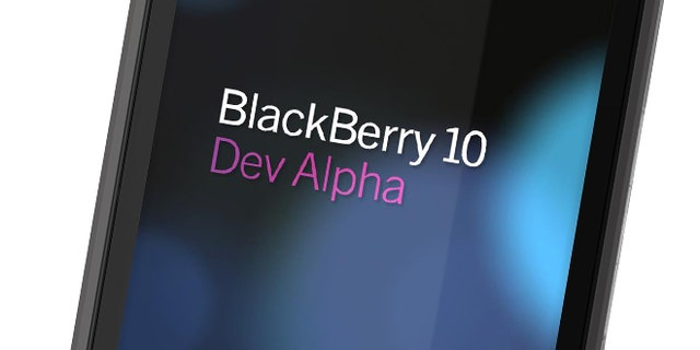 """May 1, 2012: BlackBerry-maker Research in Motion promised to provide every developer who attends developer conference BlackBerry 10 Jam an """"Alpha"""" device, the prototype shown here created to test BlackBerry 10 applications."""