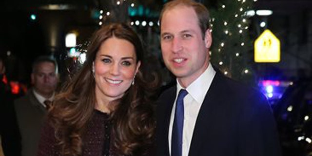 Dec. 7, 2014: Kate, left, Duchess of Cambridge and Britain's Prince William arrive at The Carlyle Hotel.