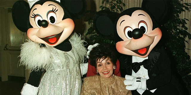"Actress Annette Funicello, best known as a member of the ""Mickey Mouse Club,"" suffered from multiple sclerosis."