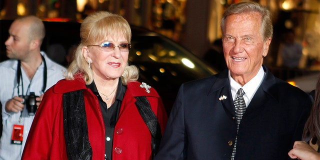 Pat Boone with his wife Shirley Boone.